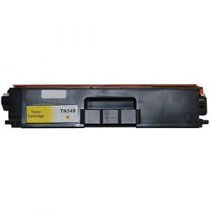 Compatible Brother TN-349 Yellow toner cartridge - 6,000 pages