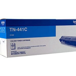 Genuine Brother TN-441 Cyan toner cartridge - 1,800 pages