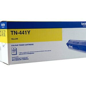 Genuine Brother TN-441 Yellow toner cartridge - 1,800 pages