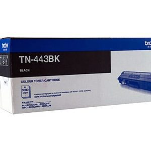 Genuine Brother TN-443 Black toner cartridge - 4,500 pages