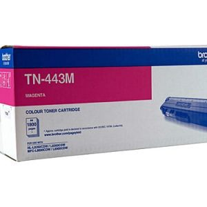 Genuine Brother TN-443 Magenta toner cartridge - 4,000 pages