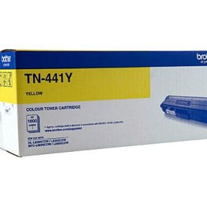 Genuine Brother TN-443 Yellow toner cartridge - 4,000 pages
