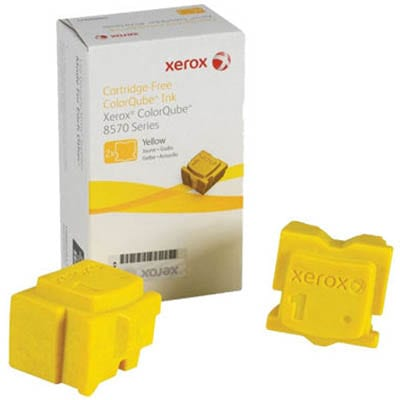 Genuine Xerox 108R00943 Yellow solid ink stick - 4,400 pages