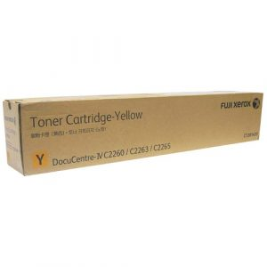 Genuine Xerox CT201437 Yellow toner cartridge - 15,000 pages