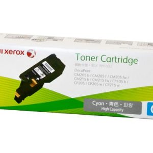 Genuine Xerox CT201592 Cyan toner cartridge - 1,400 pages